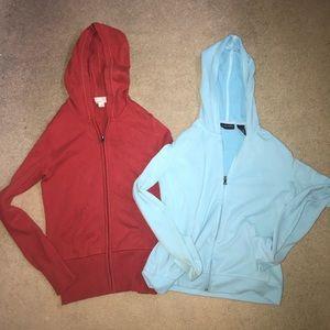 Set of 3 Zip up Hoodies Bundle
